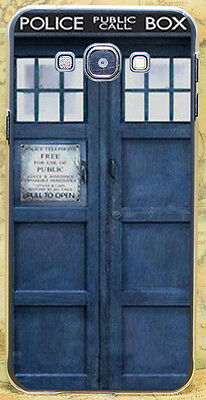 Tardis Doctor Who Police Box Hard Case Cover Coque Fundas For All Phone Models