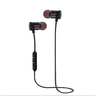 Magnet Wireless Bluetooth Sports Earphone Headset Headphone For iPhone Samsung #
