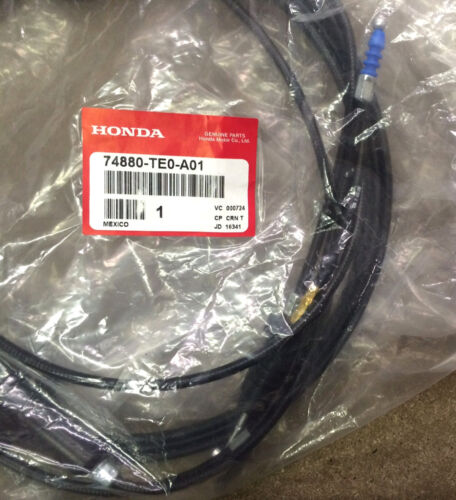 Genuine OEM Honda Accord 2Dr Coupe Trunk Gas Door Release Cable 2008-2012 Fuel