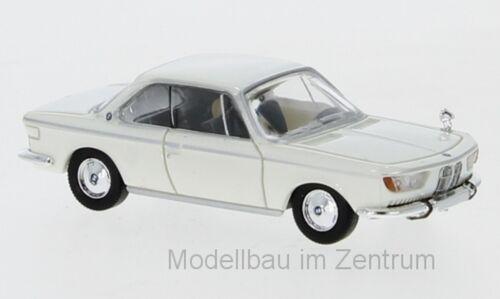 weiß NEU! Premium ClassiXXs 1:87 870029 1965 BMW 2000 CS