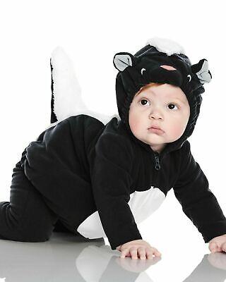 BABY 0-3 MONTHS CARTER/'S HALLOWEEN JACK-O-LANTERN BEANIE HAT BLACK NEW #11455