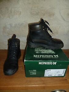 Chaussures-de-marche-Mephisto-Spider-noir-femme-pointure-38-super-etat