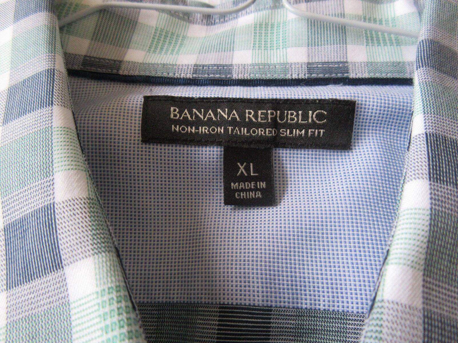 Banana Republic , X-Large , Men's Long Sleeve Shirt ,10