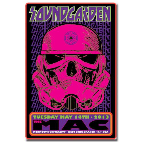 Soundgarden Psychedelic Trippy Silk Poster Print 13x20 24x36inch