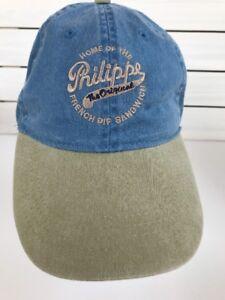 34dbfb5a Details about Philippe Famous French Dip Sandwich The LA Original  California SCAL CA Hat Cap