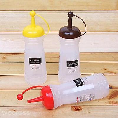 New Dispenser Bottle Holder Kit for Ketchup Mustard Condiment Sauce Oil Vinegar