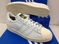 Adidas Originals Superstar 80s Dlx S75016 Men's Trainers, Size Uk 11 / Eu 46