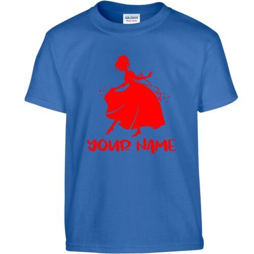 Little Princess Personalised Girls Youth Christmas Xmas Gift Wear Present Tshirt