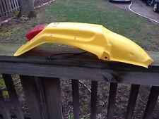 Suzuki RM125 RM250 RM 125 250 1993 94 95 YELLOW REAR Fender & TAIL LIGHT UFO NEW