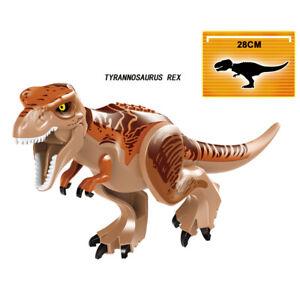 Tyrannosaurus-Rex-Jurassic-World-6-gross-grosse-Dinosaurier-passt-Lego-USA