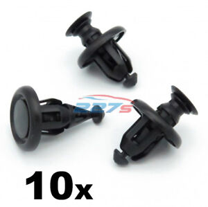 10x-10mm-Engine-Undertray-Bumper-Clips-for-the-Toyota-Yaris-51454-48010
