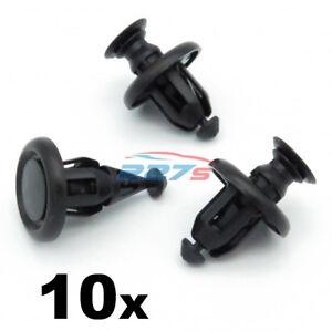 10x-Moteur-10-mm-passage-de-roue-pare-chocs-Clips-pour-Toyota-Yaris-51454-48010