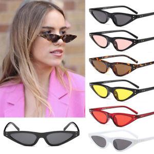fc1ab6cff3d Image is loading Women-Small-Cat-Eye-Sunglasses-Outdoor-Fashion-Retro-