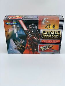 Star-Wars-Micro-Machine-Vader-039-s-Lightsaber-Play-set-1997-Galoob-68031