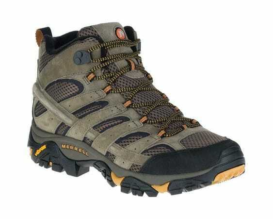 low priced ab074 80a50 Merrell Men s Moab 2 Vent Mid Hiking shoes Walnut