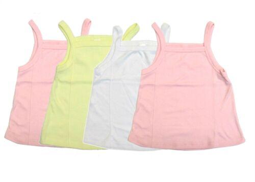 Camisole 4-Pack Toddler Girls Swing Tank Top Loose Undershirt Spaghetti Strap