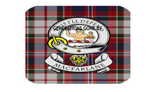 MAC FARLANE CLAN GLASS KITCHEN CHOPPING BOARD