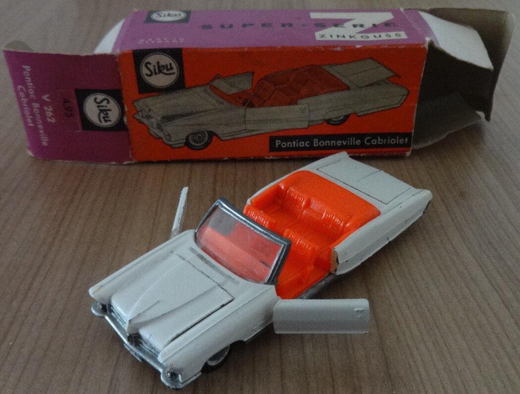 Siku-Pontiac Bonneville (Cabriolet)   V262  OVP mit Preisstanz  selten