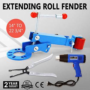 ESTENSIONE-FENDER-ROLLING-1500W-HEAT-GUN-Fender-Roller-AUTO-CAMION-ROLLER-TOOL