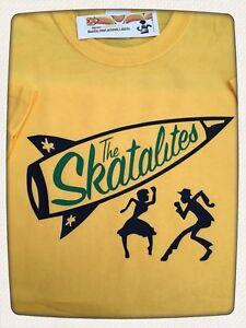 THE SKATALITES SKA STARS BLACK T SHIRT ROCKSTEADY REGGAE SKA JAZZ