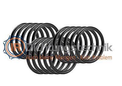 15 St. O-Ring Nullring Rundring 5,94 x 3,53 mm BS202 NBR 70 Shore A schwarz