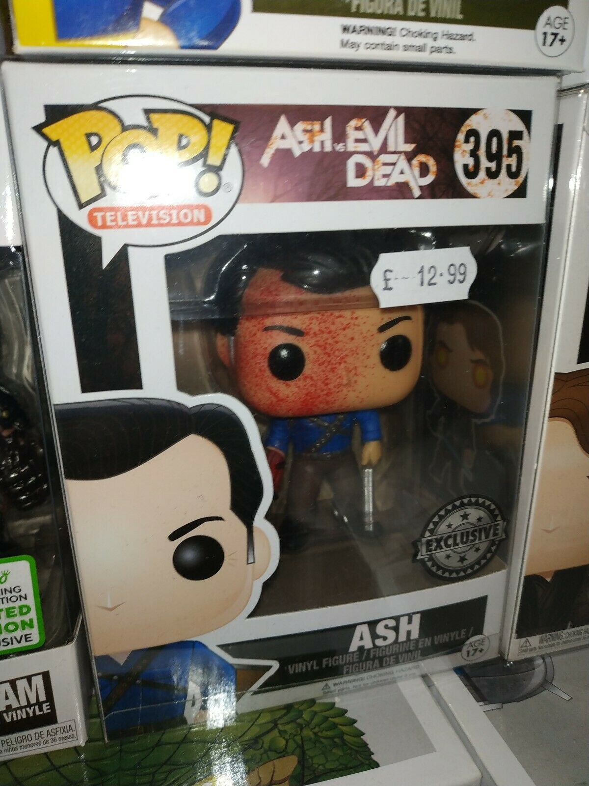 Ash VS Evil Dead divertiessitoKO POP VINYLFRASSINO INSANGUINATO   395