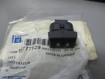 ACDelco 15777129 GM Original Equipment Door Lock Switch