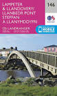 Lampeter & Llandovery by Ordnance Survey (Sheet map, folded, 2016)