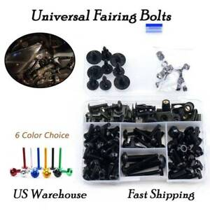 Complete Bolt Motorcycle Fairings Clips Kits 1 Set for Suzuki GSR750 2011-2017