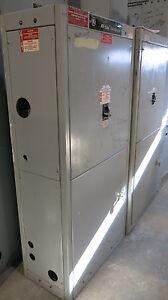 GE AV Line 400 Amp Main Breaker 120/208 Volt w/ CT Cabinet- E1382 ...