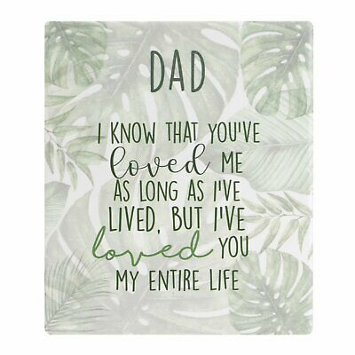 Paper Products Office Supplies Splosh Botanical Dad Verse Plaque Tropical Green Male Stand Back Mother's Day Various Styles