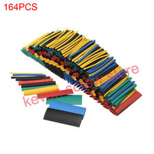 164pcs Shrinking Assorted Heat Shrink Tube Wire Cable Insulated Sleeving Tubing