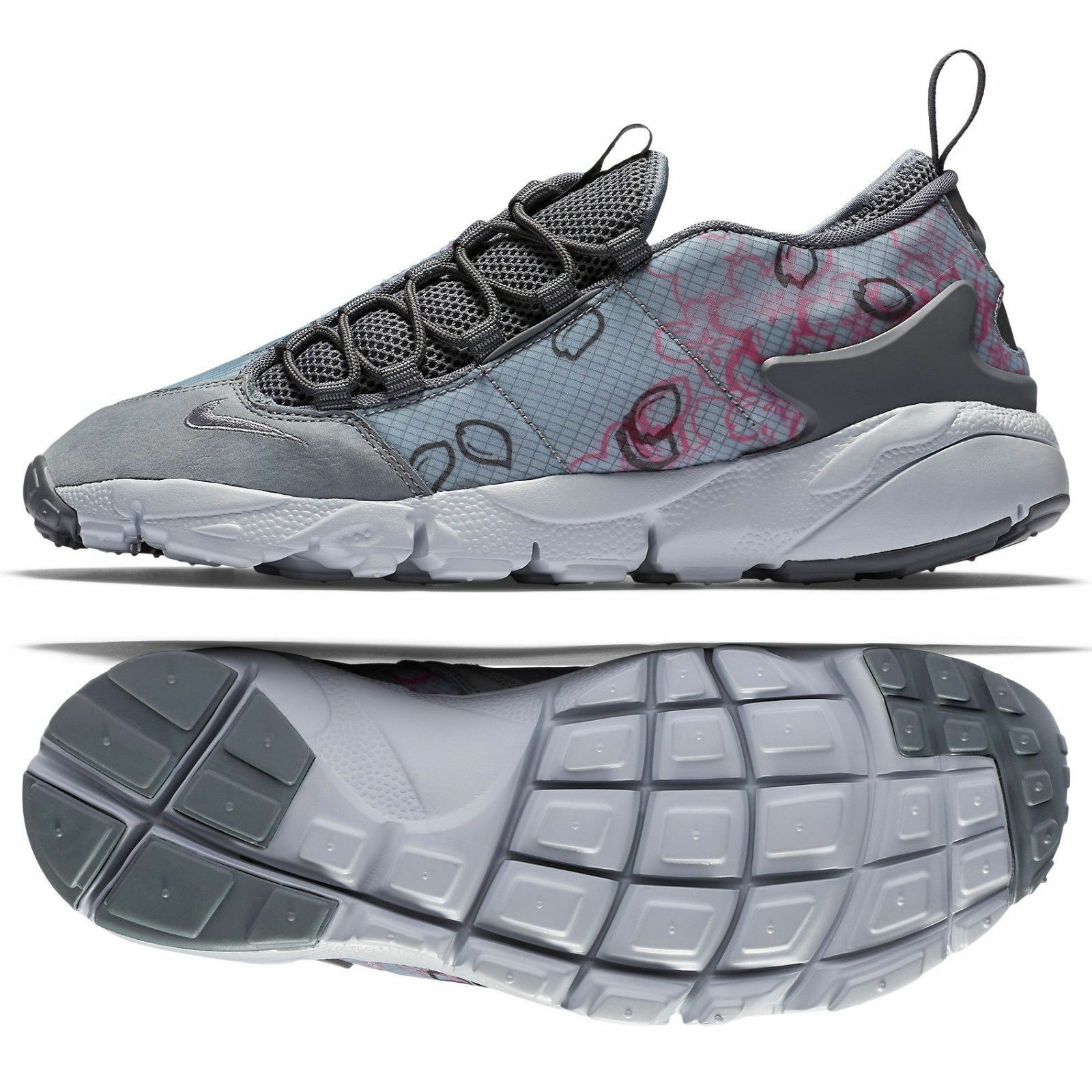 b0750c7adc FOOTSCAPE NM PREMIUM QS GREY PINK MEN'S SHOES SIZE 11.5 (846786-002 ...