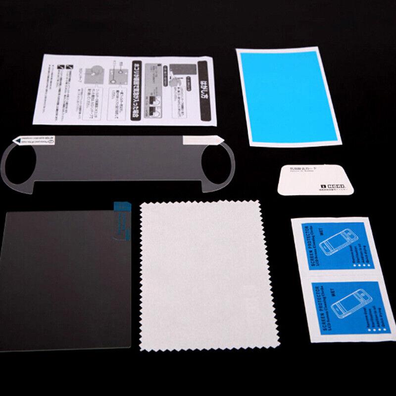 Tempered glass film screen protector set for playstation ps vita psv 1000DSUKDS