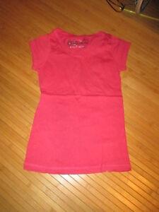 Tee-shirt-rose-fonce-MC-T10ans-marque-Bilook-TBE