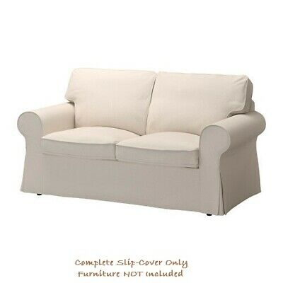 Rp Cover For Two Seater Sofa In Lofallet Beige 103 216 99 Ikea New Ebay