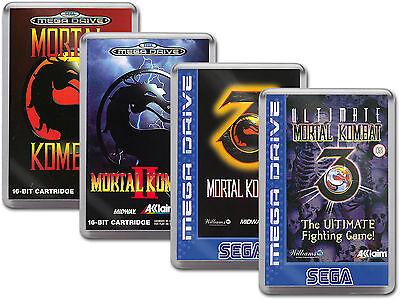 MORTAL KOMBAT COLLECTION Sega Megadrive Cover Art Fridge Magnet