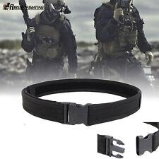 "1.5"" Survival Airsoft Tactical Belt Emergency Load Bearing Cambat Duty Web Belt"