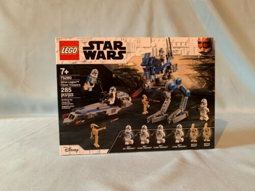 NEW FAST SHIPPING LEGO Star Wars 75280 501st Legion Clone Troopers Battle Pack