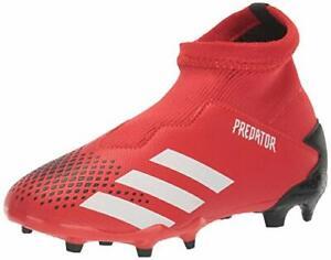 adidas-Kids-039-Predator-20-3-Firm-Ground-Soccer-Shoe-Black-Size-5-0-T4KY