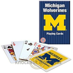 Michigan - Playing Cards Game Play Learn Fun Hobby