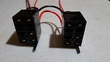 Carling Arb Rocker Switch Plug Connector Harness Wired Flying Leads Original