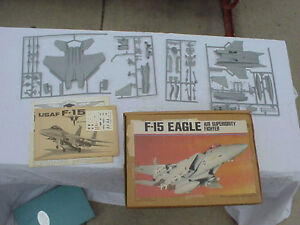 USAF-F-15-Eagle-Model-Airplane-young-model-Builders-Club-1-72-scale