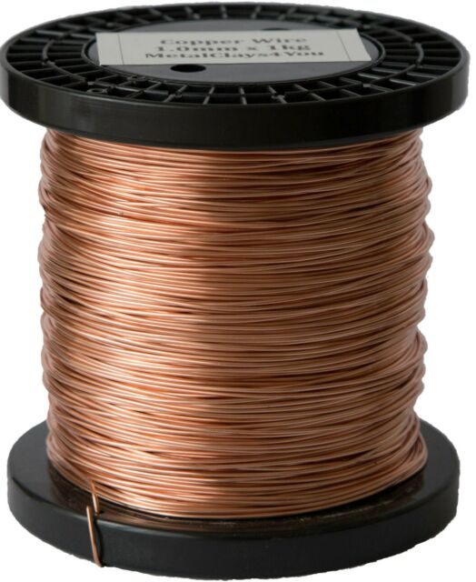 0.8mm full SIZE range unplated  solid 500g BARE SOFT PURE COPPER WIRE  0.2mm