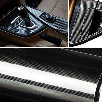 4D 5D PVC 5D Carbon Fiber Car Vinyl Foil Film Wrap Roll Sticker Decal
