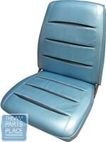1968 Charger / R/t Pearl White Front Buckets Seat Covers - Pui