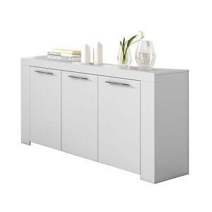 Aparador-Moderno-3-Puertas-Buffet-Salon-Recibidor-Blanco