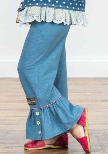 MATILDA JANE Bright Lights Big Ruffles Girls Size 6 8 10 New In Bag Pants Blue