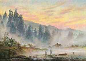 A4-Photo-Friedrich-Caspar-David-1774-1840-The-Morning-1820-Print-Poster