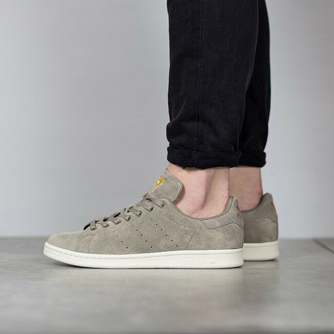 Adidas Stan Smith Originals BB0038 New Men's Shoes Gray